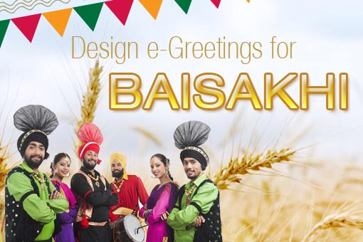 E-Greetings Design Contest for Baisakhi 2016