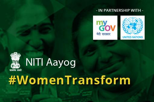 Notification Regarding Women Transforming India