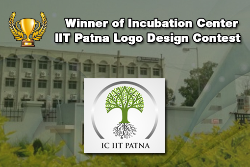 Incubation Center IIT Patna Congratulates The Winner of its Logo Design Contest