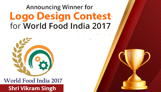 Announcing Winner for Logo Design Contest for World Food India 2017