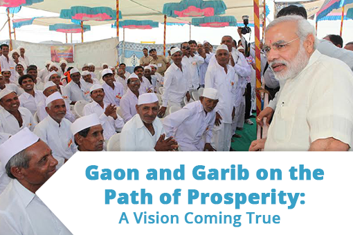 Gaon and Garib on the Path of Prosperity: A Vision Coming True