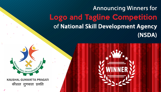 Announcing Winners for Logo and Tagline Competition of National Skill Development Agency (NSDA)