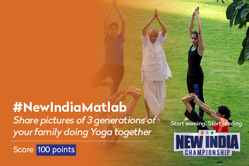 New India Championship Activities - #3GenYoga