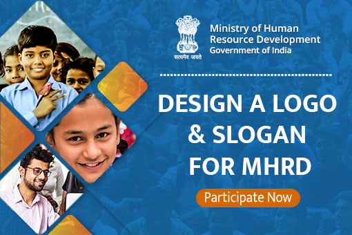 Design a Logo and Slogan for MHRD | MyGov in