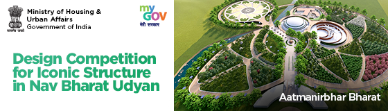 Design Competition for Iconic Structure in Nav Bharat Udyan