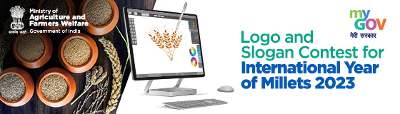 Logo and Slogan/Tagline contest for  International Year of Millets 2023