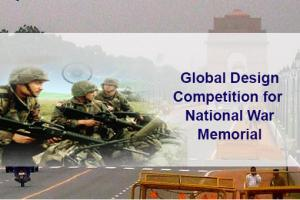 Global Design Competition for National War Memorial