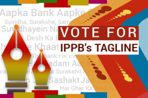 Vote for Your Favourite Tagline for India Post Payments Bank (IPPB)