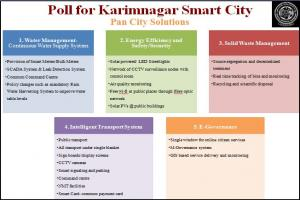 Poll for Pan City Solution - Karimnagar Smart City