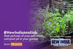 New India Championship Activities - Make your own Compost Pit