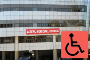 Identify at least 50 public (government) buildings in Aizawl frequently used by persons with disabilities to be converted into fully accessible buildings under Accessible India Campaign (Sugamya Bharat Abhiyan)