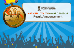 National Youth Award 2015-16, Result Announcement
